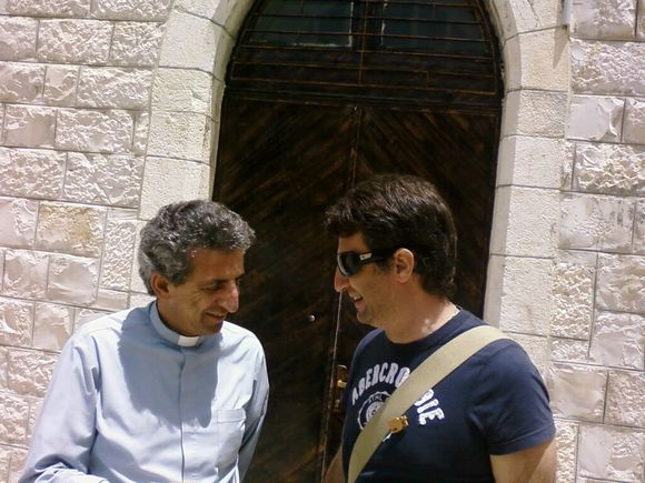 Visite de la communauté chrétienne de Taybeh