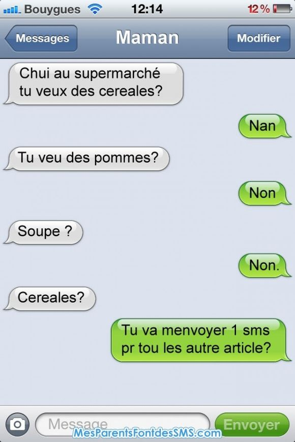 Mes Parents Font des SMS.com